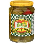 Tony Packos Original Pickles and Peppers, 24 Ounce -- 6 per case