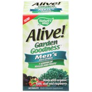 Natures Way Alive Organic Garden Goodness Mens Multi Vitamin Tablet - 60 count per pack -- 1 each