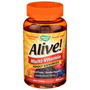 Natures Way Alive Adult Multi Vitamin Gummies - 90 count per pack -- 1 each