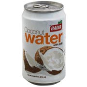 Badia Coconut Water with Pulp, 10.5 Ounce -- 12 per case