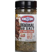 Kingsford Original No Salt All Purpose Seasoning, 4.25 Ounce -- 6 per case
