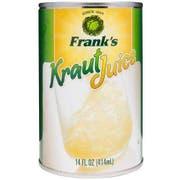 Franks Sauerkraut Juice, 14 Fluid Ounce -- 12 per case