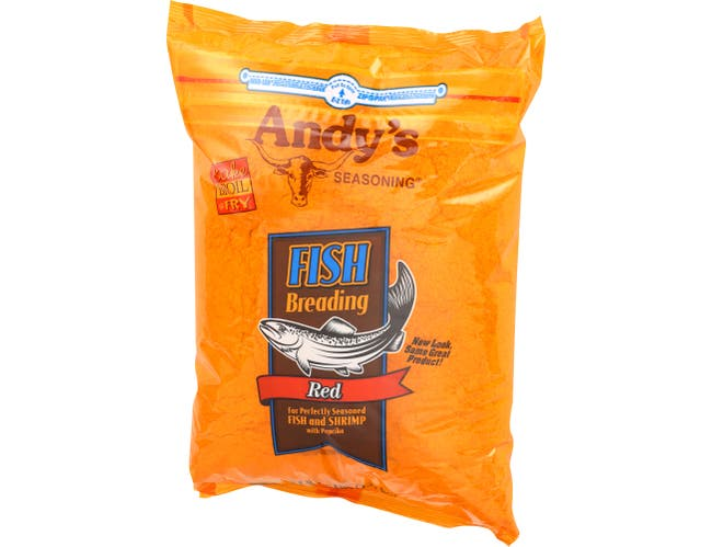 Andys Red Fish Breading, 5 Pound -- 6 per case