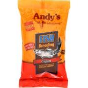 Andys Cajun Fish Breading, 10 Ounce -- 6 per case