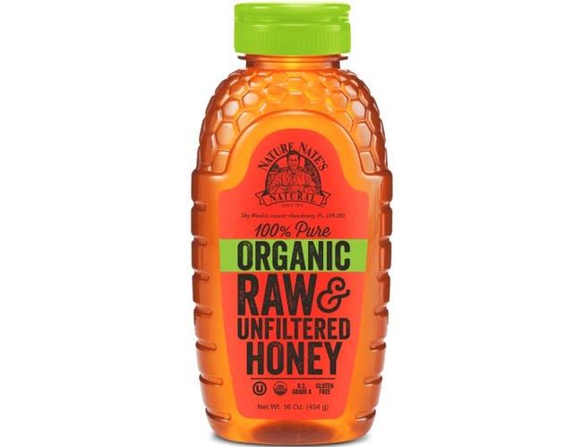 Nature Nate's Organic Honey, 16 Ounce -- 6 per case