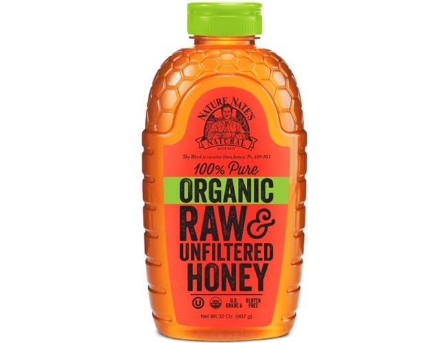 Nature Nate's Organic Honey, 32 Ounce -- 6 per case