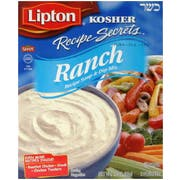 Lipton Kosher Recipe Secrets Ranch Soup and Dip Mix, 2.4 Ounce -- 12 per case