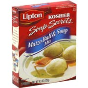 Lipton Kosher Matzo Ball and Soup Mix, 4.3 Ounce -- 12 per case