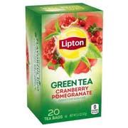 Lipton Cranberry Pomegranate Green Tea, 20 tea bags per pack -- 6 per case