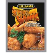 Williams Spicy Wings Seasoned Coating Mix, 5 Ounce -- 6 per case