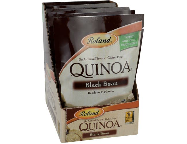 Roland Black Bean Quinoa, 5.46 Ounce -- 6 per case