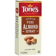 Tones Pure Almond Extract, 1 Fluid Ounce -- 1 each