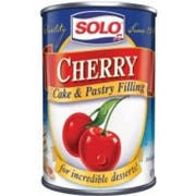 Solo Cherry Cake and Pastry Filling, 12 Ounce -- 6 per case