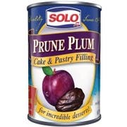 Solo Prune Plum Cake and Pastry Filling, 12 Ounce -- 6 per case