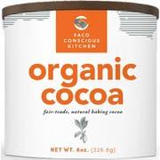 Saco Organic Baking Cocoa, 8 Ounce -- 6 per case