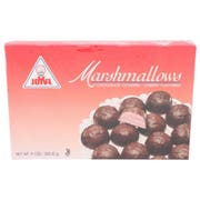 Joyva Cherry Flavored Chocolate Covered Marshmallow Twist, 9 Ounce -- 24 per case