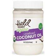Field Day Organic Unrefined Coconut Oil, 14 Fluid Ounce -- 6 per case