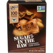 In The Raw Natural Turbinado Cane Sugar, 100 count per pack -- 8 per case