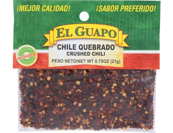 EL Guapo Crushed Chili, 0.75 Ounce -- 12 per case