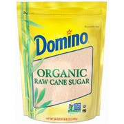 Domino Organic Raw Cane Sugar, 24 Ounce -- 12 per case