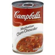 Campbells Manhattan Clam Chowder Soup, 10.75 Ounce -- 12 per case