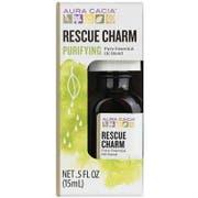 Aura Cacia Rescue Charm Pure Essential Oil Blend, 0.5 Ounce -- 3 per case