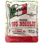 Albertos Wide Egg Noodles, 16 Ounce -- 6 per case