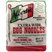Albertos Extra Wide Egg Noodles, 16 Ounce -- 6 per case