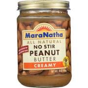 Maranatha Creamy No Stir Peanut Butter, 16 Ounce -- 6 per case