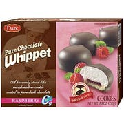 Dare Raspberry Pure Chocolate Whippet Cookie, 8.8 Ounce -- 12 per case