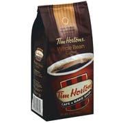 Tim Hortons 100 Percent Arabica Medium Roast Whole Bean Coffee, 12 Ounce -- 6 per case