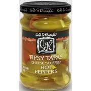 Sable and Rosenfeld Tipsy Tapas Hot Peppers, 8.8 Ounce -- 6 per case