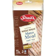 Streits Whole Wheat Matzo Meal, 16 Ounce -- 12 per case