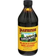 Plantation Organic Black Strap Molasses, 15 Ounce -- 12 per case