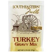 Southeastern Mills Roast Turkey Gravy Mix, 2.75 Ounce -- 12 per case
