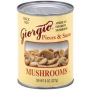Giorgio Mushroom Pieces N Stems, 8 Ounce -- 12 per case