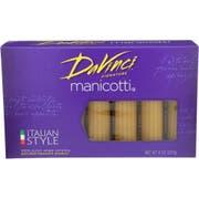 Davinci Cannelloni Manicotti Pasta, 8 Ounce -- 12 per case