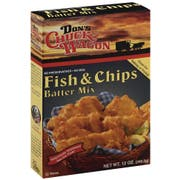 Dons Chuck Wagon Fish and Chips Batter Mix, 12 Ounce -- 6 per case