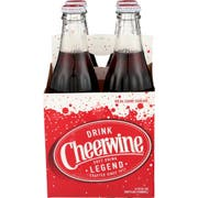 Cheerwine Soda, 4 count per pack -- 6 per case
