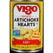 Vigo Baby Artichoke Hearts, 14 Ounce -- 12 per case