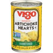 Vigo Quartered Artichoke Hearts, 14 Ounce -- 12 per case
