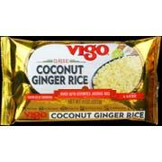 Vigo Coconut Ginger Rice, 8 Ounce -- 12 per case
