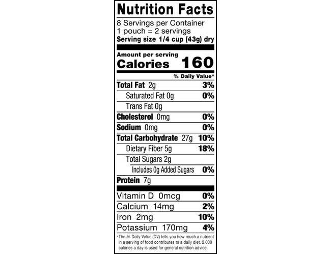 Vigo Boil In Bag Organic Quinoa and Lentil Entree, 12 Ounce -- 6 per case