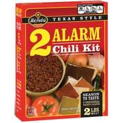 Wick Fowlers 2 Alarm Chili Kit, 3.3 Ounce -- 8 per case