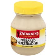 Zatarains Prepared Horseradish Sauce, 5.25 Ounce -- 12 per case