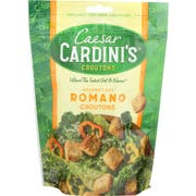Cardinis Gourmet Cut Romano Cheese Croutons, 5 Ounce -- 12 per case