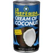 La Preferida Cream Of Coconut, 15 Ounce -- 12 per case