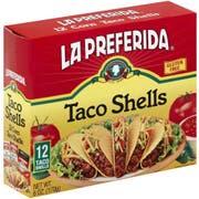 La Preferida Taco Shell, 12 count per pack -- 12 per case