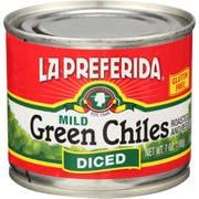 La Preferida Diced Mild Green Chilies, 7 Ounce -- 12 per case
