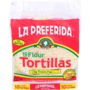 La Preferida Tortilla Flour, 10 count per pack -- 12 per case